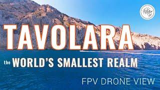 Tavolara, Sardegna - Italy | FPV exploring the cliffs of the world's smallest kingdom