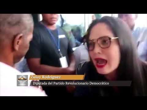 Impiden acceso de Zulay Rodríguez a Congresillo de Changuinola