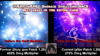 Mod Showcase - OVERPOWERED Barrage Spells are BACK Best skills in the entire Game
