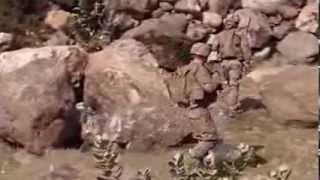 preview picture of video 'In pattuglia con i soldati afghani nella valle del Pech'