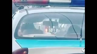 Вот такая полиция в Алматы.