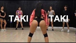 DJ Snake feat Selena Gomez Ozuna & Cardi B  Taki Taki l Basic twerk by frontwerking l ทเวิร์ค