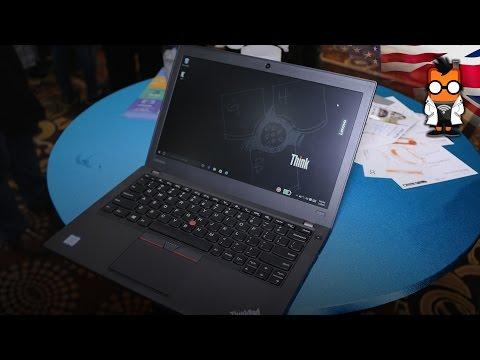 Lenovo ThinkPad x260 Hands On - CES 2016