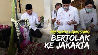 Tak Ikut Tahlilan sang Ibunda, Jokowi Langsung Balik ke Istana Negara