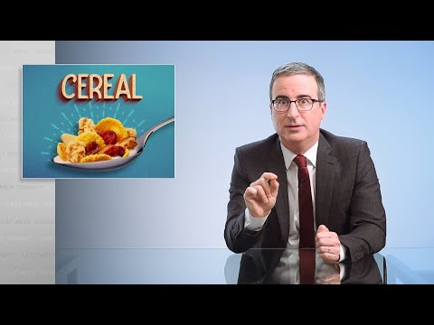 Cereal: Last Week Tonight with John Oliver