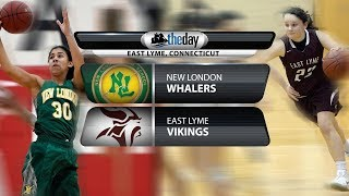 Full replay: New London at East Lyme girls' basketball