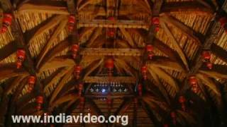 Koothambalam - traditional venue of classical art performances