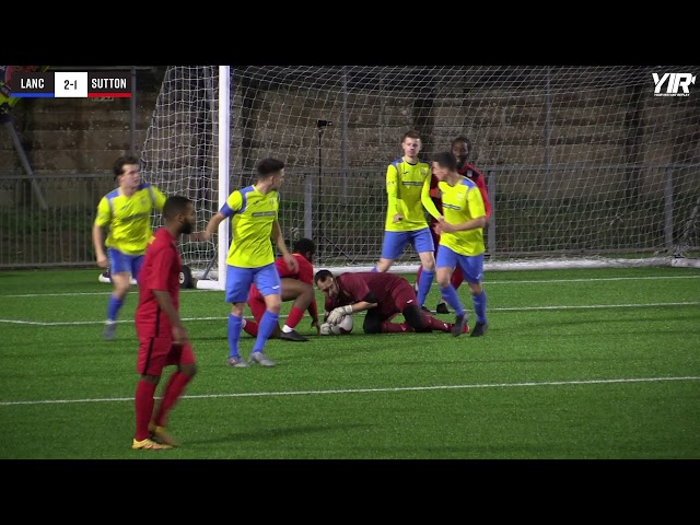 Highlights: Lancing 3 Sutton 3 (Cup)