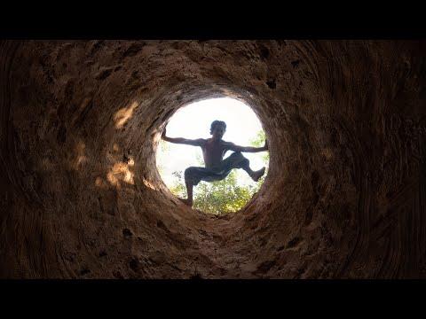 Building Secret Underground Water Well House