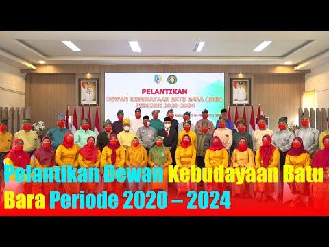 Pelantikan Dewan Kebudayaan Batu Bara Periode 2020 – 2024