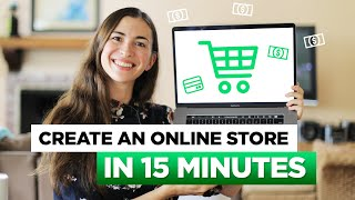 How to start an online business in 15 minutes