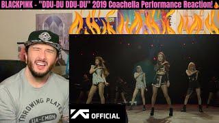 "BLACKPINK - ""DDU-DU DDU-DU"" 2019 Coachella Live Performance Reaction!"