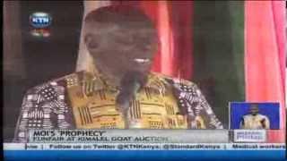 Former president Daniel Arap Moi speaks of Uhuru Kenyatta