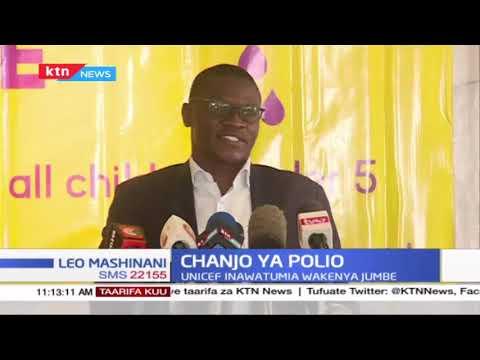 Chanjo ya polio kuanza kutolewa katika kaunti 14