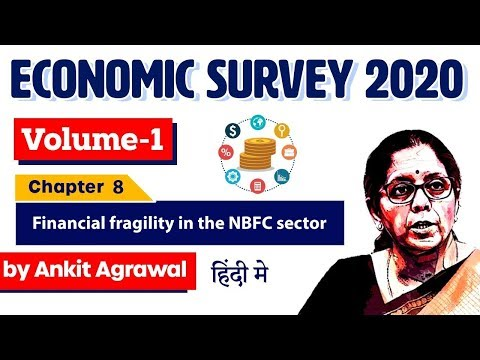 Economic Survey 2020, Volume 1 Chapter 8 Financial fragility in the NBFC sector