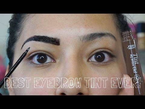 Etude EYEBROW TINT REVIEW On Olive Skin – Alexisjayda