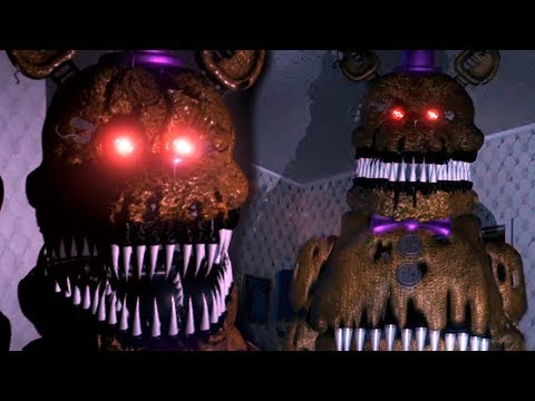 TIME TO FACE FREDBEAR... AGAIN! || Five Nights at Freddy's 4 Remastered (Unity)