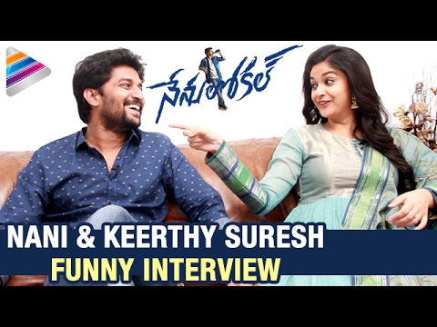Nani and Keerthy Suresh Interview about Nenu Local