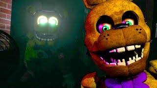 DO NOT LET SPRING BONNIE SEE YOU MOVE.. | Final Nights 4 EARLY DEMO GAMEPLAY (FREE ROAM FNAF)