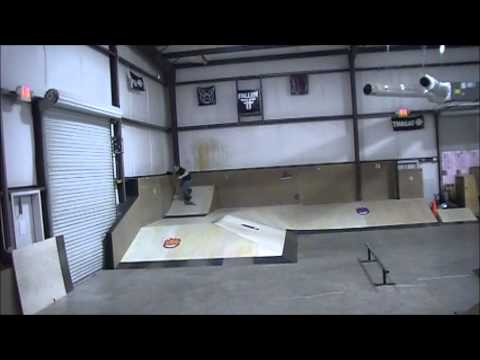 Skate session at The Grind Skatepark in Douglasville, GA