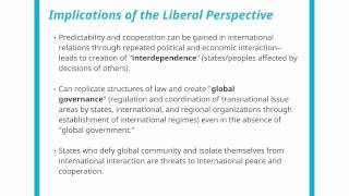 analysis of the un with liberalism and realism Start studying 2 there are three main paradigms in the field of international relations realism (classical and neo), international liberalism, and dependency/revolutionary.