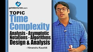 Algorithms Design and Analysis 02 Time Complexity Analysis - Asymptotic Notations