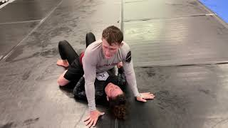 Mounted triangle combo by Jordan Holy