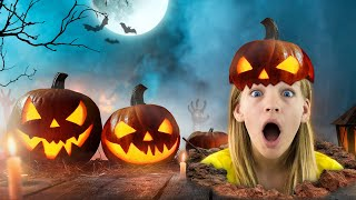 Amelia, Avelina and Akim halloween adventure for kids