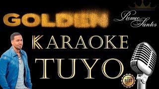 Romeo Santos   Tuyo (Karaoke)
