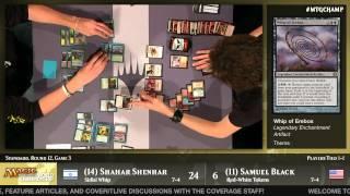 World Championship 2014 Round 12 (Standard): Lars Dam vs. Shaun McLaren
