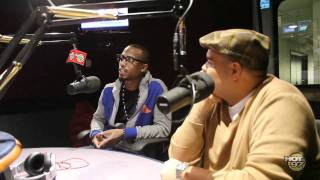 B.o.B, B.O.B. Stops by the Angie Martinez Show