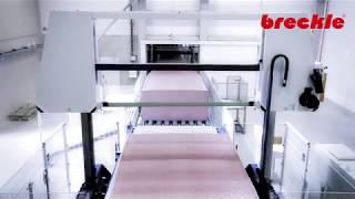 Виробництво матраців Breckle з холодної піни Kaltschaum