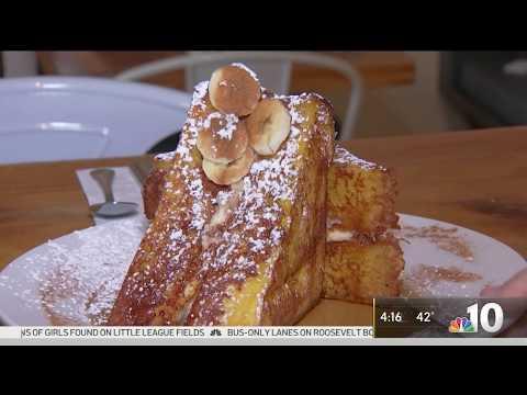 Sabrina's Café on NBC 10 | Stuffed French Toast