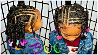 We Heart This Simple Ponytail Hairstyle Little Girls 4a Natural