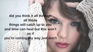 Taylor Swift - Bad Blood ft. Kendrick Lamar | Lyrics 1