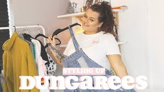 6 WAYS TO STYLE  DUNGAREES - LETS TRY THIS