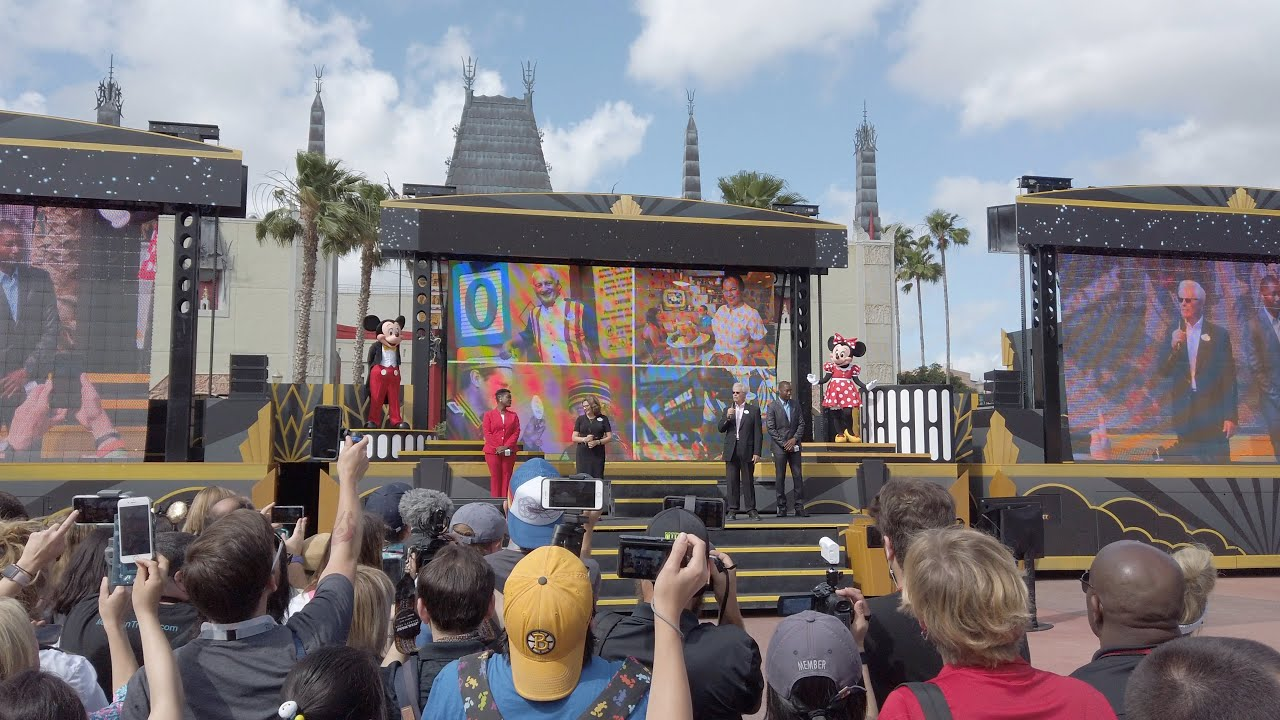 Disney's Hollywood Studios 30th Anniversary moment