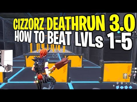 Fortnite Creative Codes Cizzorz Deathrun 1 | Fortnite