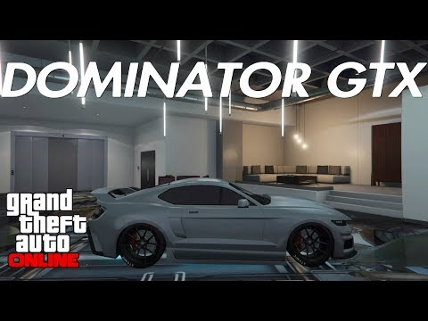 GTA ONLINE - DOMINATOR GTX REVIEW! IS THIS THE NEW TOP MUSCLE CAR IN GTA ONLINE?