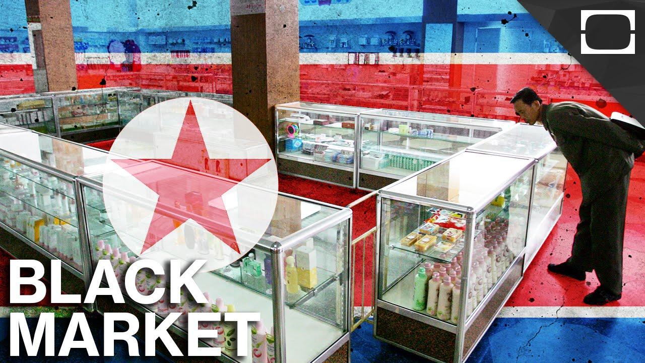 How North Korea's Economy Thrives On Its Black Market thumbnail