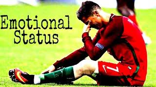 The Day When Cristiano Ronaldo Gets Emotional WhatsApp Status