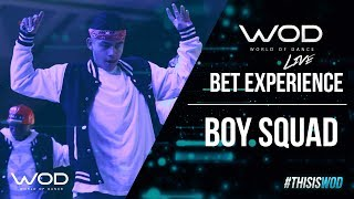 Boy Squad   WOD Live at BET Experience 2017   #BETX #BETExperience