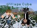 Minecraft Village Cube 20.rész-Minden jó,ha a vége ...
