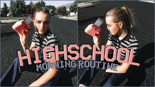 My High School Morning Routine! 2018