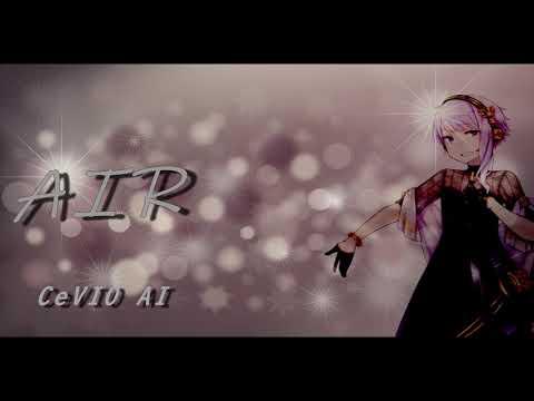 【CeVIO AI】AIR   (ショートver) Vo結月ゆかり_麗【オリジナル曲】