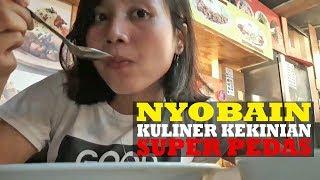 Nyobain Kuliner Kekinian Super Pedas, Seblak Jeletot dan Mi Karet Abang di Taman Jajan CBD Bintaro