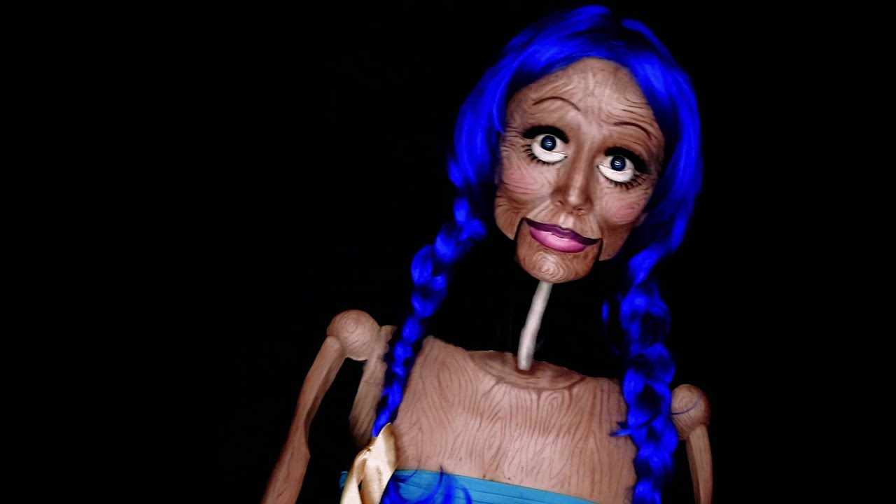 body painting wooden puppet doll award winning by kika studio