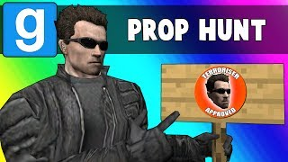 Gmod Prop Hunt Funny Moments - Embracing Terroriser Spots (Garry's Mod)