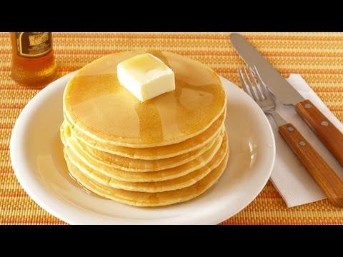 How to Make Pancakes From Scratch (Homemade Pancake Recipe)   OCHIKERON   Create Eat Happy :)