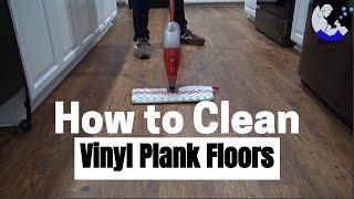 How To Clean Vinyl Plank Floors